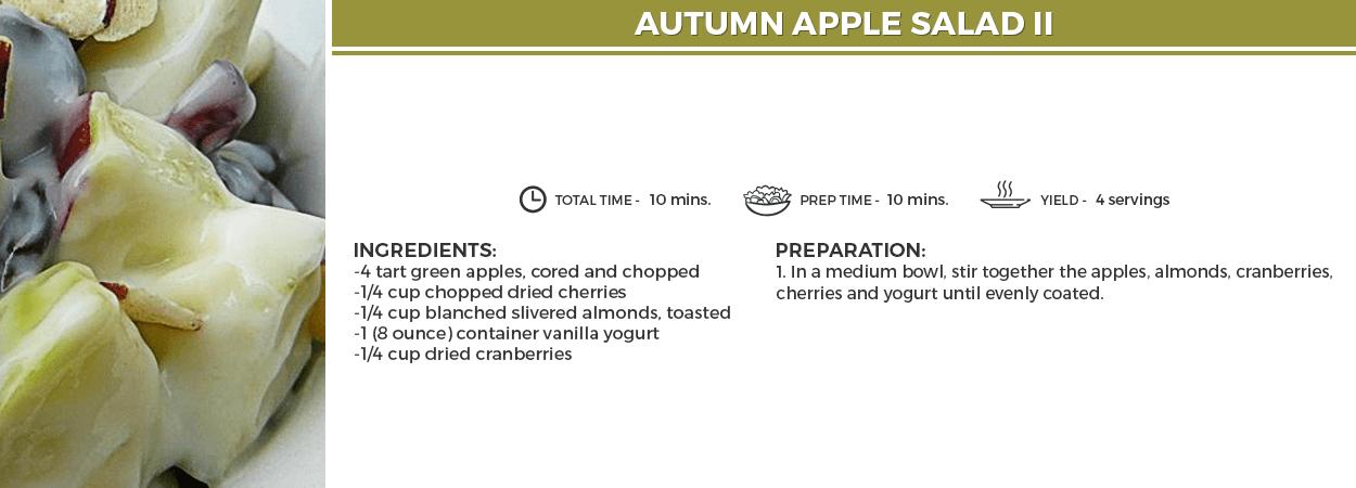 Autumn Apple Salad II