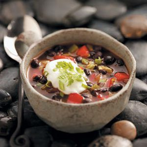Contest-Winning Black Bean Soup Recipe