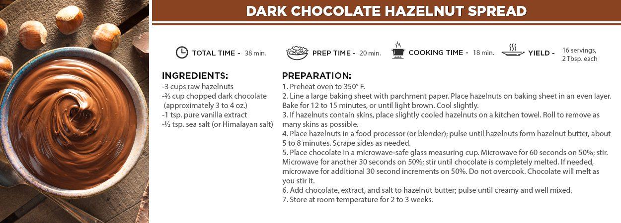 Dark Chocolate Hazelnut Spread
