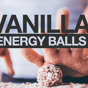 Vanilla Almond Energy Balls