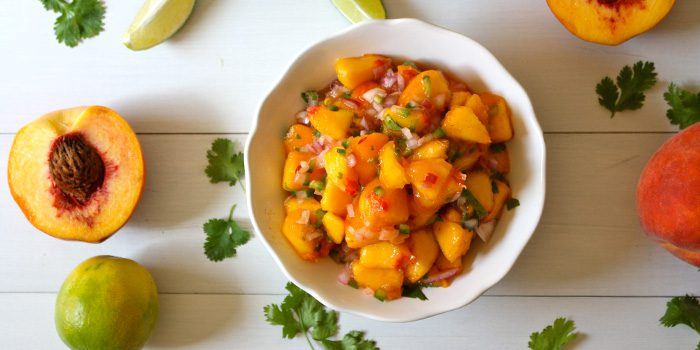 Peach and Jalapeño Salsa