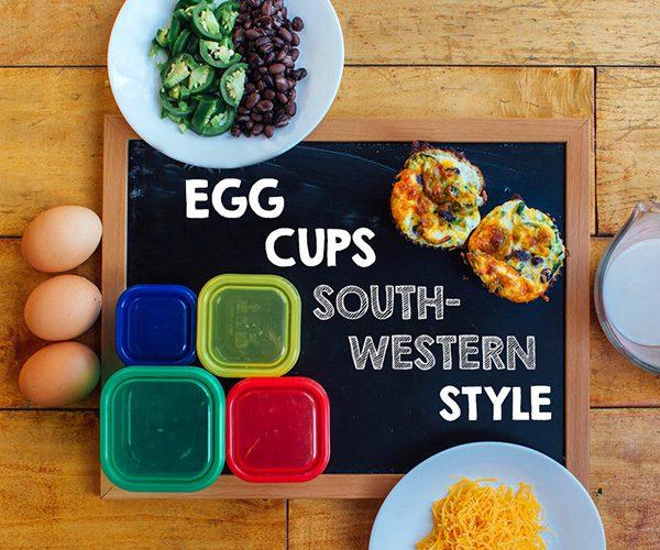 Southwestern Egg Cups