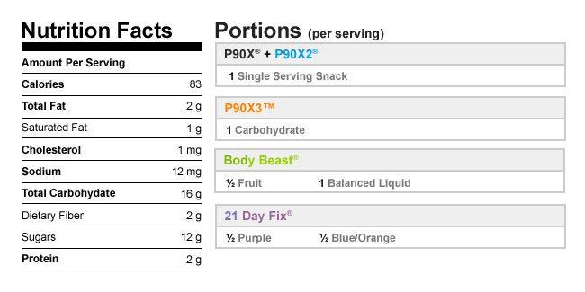 Vanilla Berry Coconut Popsicles NutritionalData
