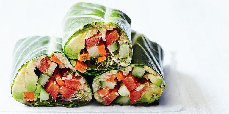Crunchy Veggie Wraps