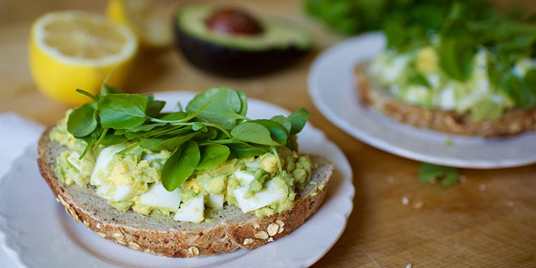 avocado-egg-salad-toast